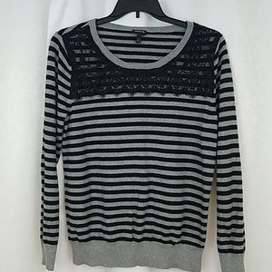 Torrid Lace Embellished Sweater Size 2X